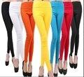 Las nuevas Mujeres del Verano Pantalones de La Marca de Moda Estiramiento Delgados de Cintura Alta Más Tamaño Pantalones Lápiz Tamaño Libre 18 Colores