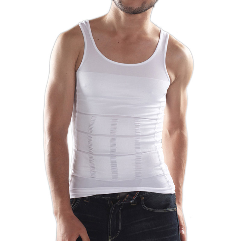 100% QualitäT Lasperal Männer Ärmellose Weste Casual Männlichen Körper Abnehmen Tank Tops Mode Unterwäsche Shapewear Heißer Verkauf Männer Kleidung Online Shop