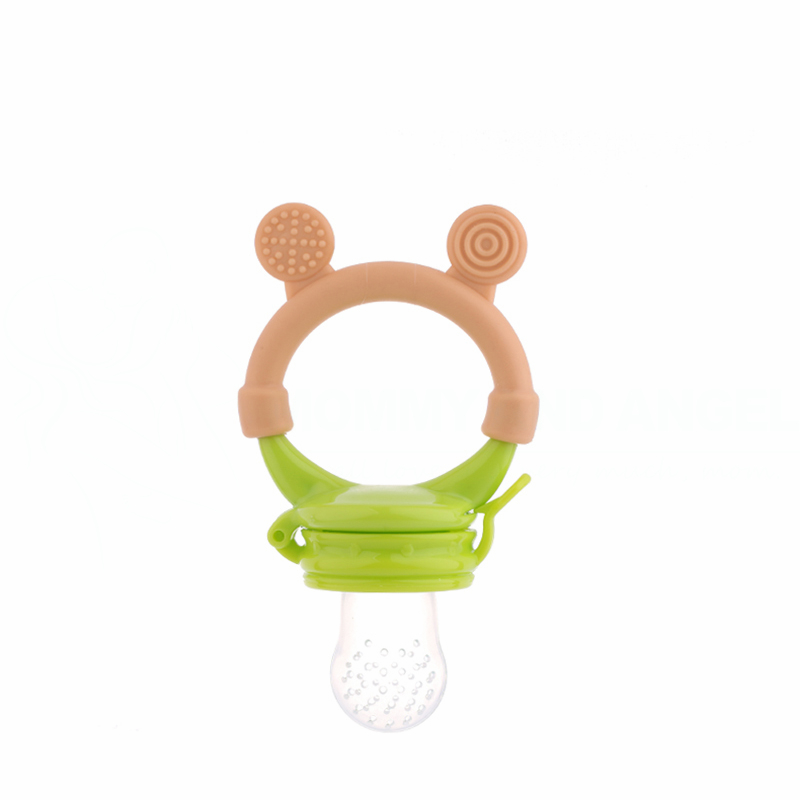 Baby Pacifiers Silcone Feeding Bottles Fresh Food Feeder Feeding Nipple Dummy Fruits (Si ...