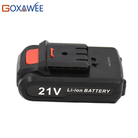 GOXAWEE 12V 16 8V 21V Cordless Rechargeable Lithium Battery For Electric Drill Screwdriver Power Tool Extra