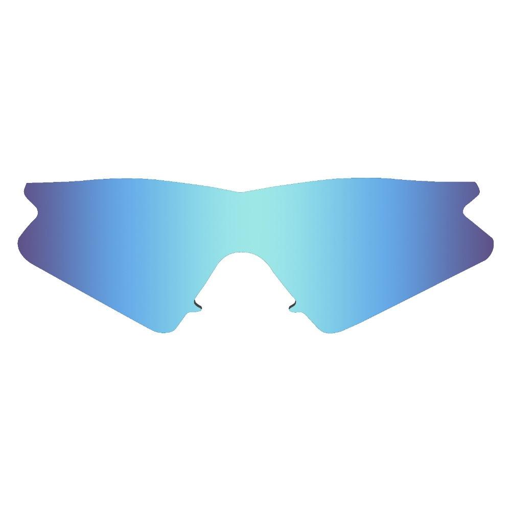 HKUCO Mens Replacement Lenses For Oakley M Frame Sweep Blue/Black/Titanium/Bronze Sunglasses 8OMcQz9UU