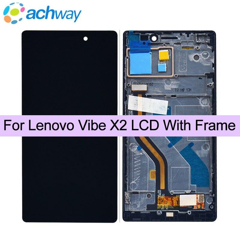 Für Lenovo Vibe X2 LCD Display + Touch Screen Digitizer Montage mit rahmen kostenlose tools