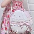 ARTMOMO Japanese Kawaii Cartoon Rabbit Women Messenger Bag Makeup Bag Sweet Lolita Girls Candy Bag Fashion Gothic Style Bag