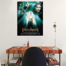 Lord Of The Rings Characters Art Wallpaper Canvas Painting Prints Bedroom Home Decoration Modern Wall HD Art Oil Painting Poster the art of wallpaper