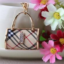 fashion jewelry purse Handbag car keychain bag charm pendan key ring Hanger Key Ring Key Chain