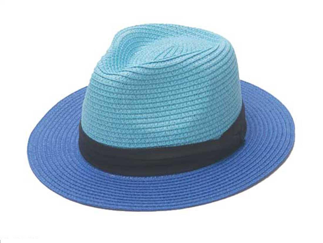 c4e912291c0 Bulk Hats 12pcs Lot Designer Women Blue Beach Straw Fedora Hats Lady  Colored Paper Straw Hat Womens Pink Summer Sun Fedoras Cap