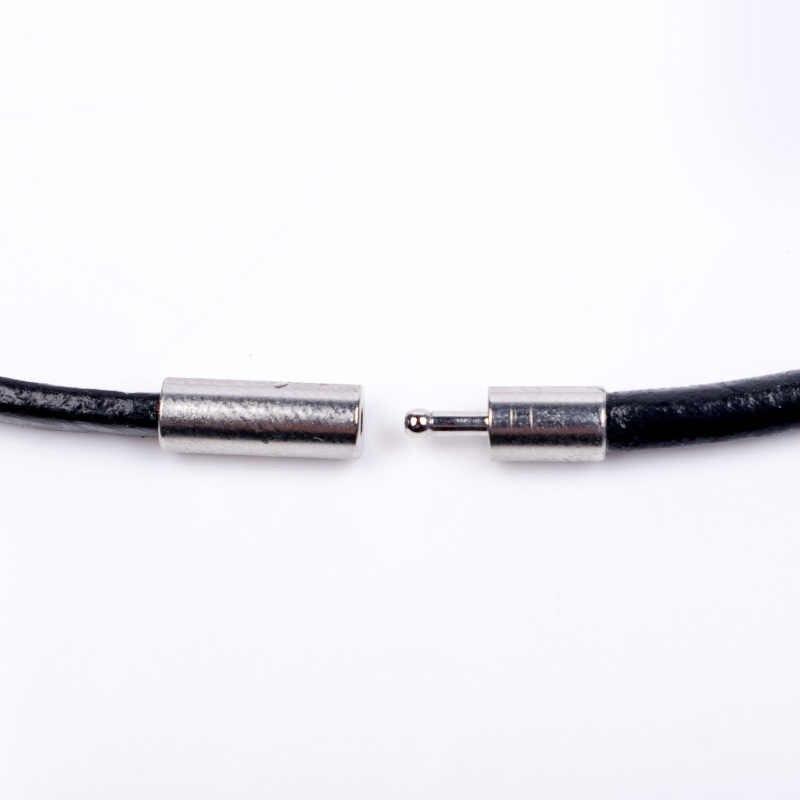 Diy biżuteria akcesoria rękodzieło materiał 3.0mm skóra sznur naszyjnika wisiorek
