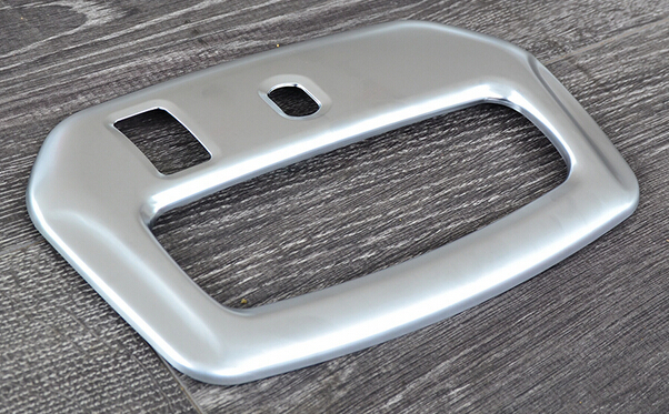 Auto reading light trim,roof lamp bezel for Ford Escort 2015, abs chrome,auto accessories,car accessories.