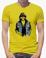 Sommer black Friday t shirts männer Lemmy Kilmister Motörhead Kurzschluss-beiläufige Baumwolle kpop herren S-XXXL