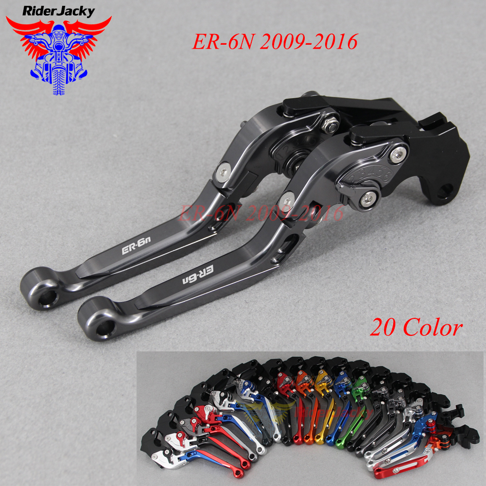 CNC Extendable Foldable Motorcycle brake Clutch Levers For Kawasaki ER-6N ER6N 2009-2016 ER6 N 2015 2014 2013 2012 2011 2010 CNC Extendable Foldable Motorcycle brake Clutch Levers For Kawasaki ER-6N ER6N 2009-2016 ER6 N 2015 2014 2013 2012 2011 2010