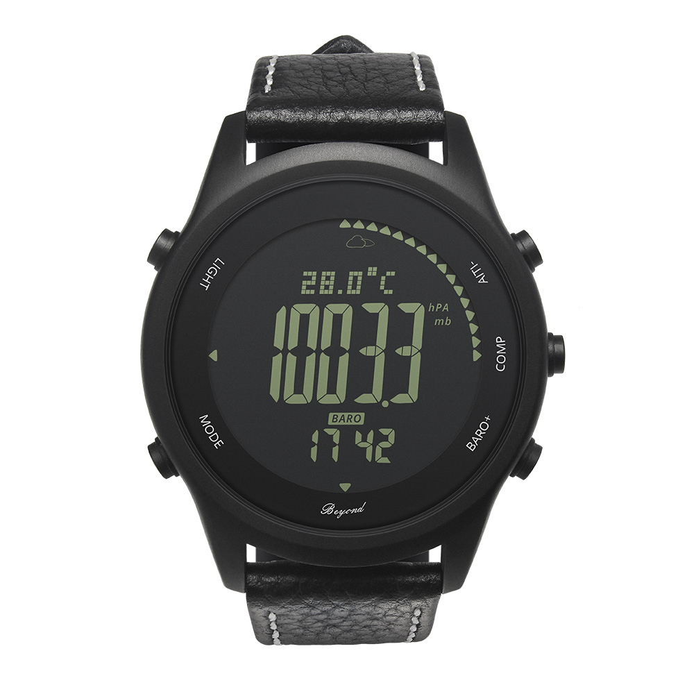 Beyond Smart Watch support GPS Pressure Altitude Compass Heart rate remote camera IP68 Waterproof Man Outdoor