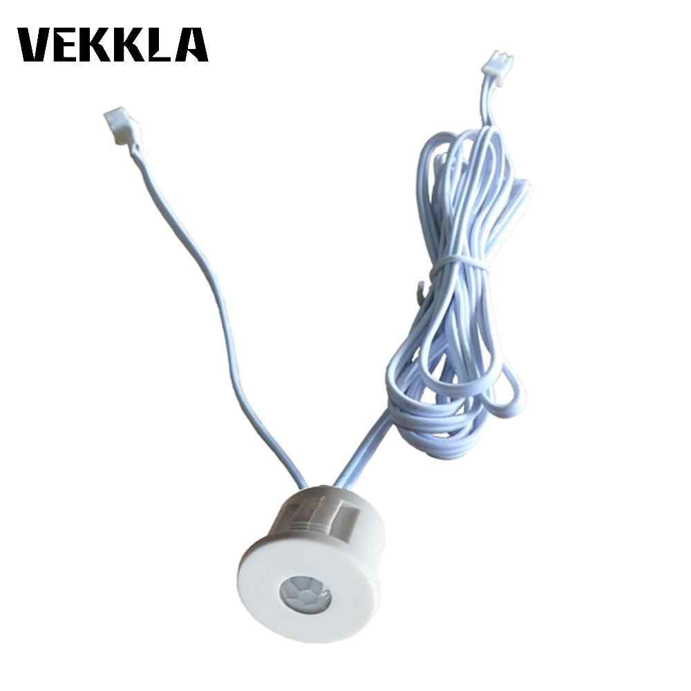 small resolution of 12v led pir infrared body motion automatic on off sensor switch led strip light home corridor