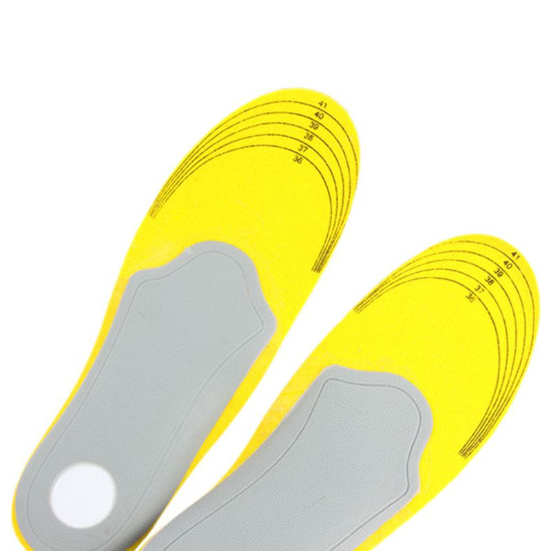 feet care 1 pair 3D premium women men comfortable shoes orthotic insoles inserts high arch support pad