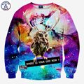 Mr.1991INC Newest fashion men/women's 3d hoodies Funny printed animal Lucky bird space galaxy sweatshirt autumn tops clothes