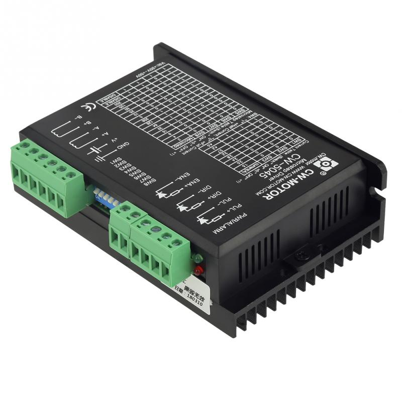 1pc Motor Microstep Driver CW 5045 4 5A 24V 50VDC for CNC Hybrid Motors brushless DC