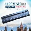 4400 mah new bateria do portátil para hp compaq presario cq43 cq56 cq72 cq630 para hstnn-ub0w wd548aa envy 15-1100 17-1000 593553-001