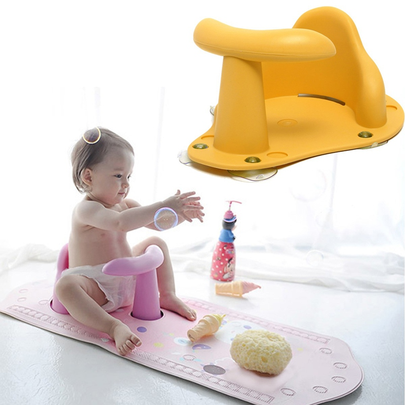 4 Colors Baby Child Toddler Kids Anti Slip Safety Chair Bath Tub Ring Seat Infant Green / Pink / Blue / Yellow