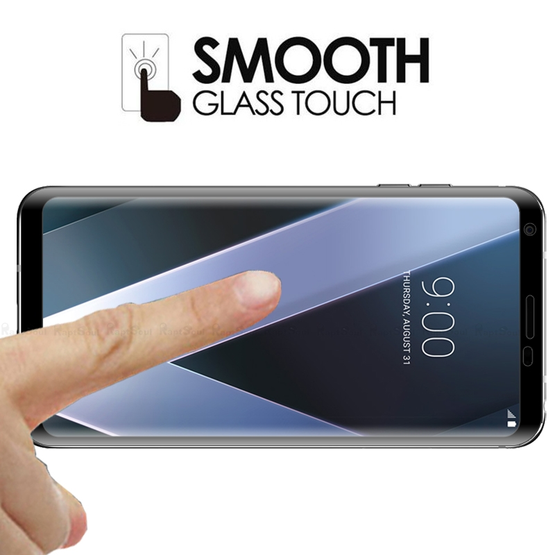 Image 5 - 3D Curved Edge Toughened Full Cover Tempered Glass For LG V30 V30S V35 V40 V50 G8 G7 Plus ThinQ Screen Protector Protective Film-in Phone Screen Protectors from Cellphones & Telecommunications