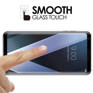 Image 5 - 3D โค้งขอบคลุมทั้งหมดกระจกนิรภัยสำหรับ LG กำมะหยี่ V30 v30s V35 V40 V50 v50s g8x G8 G7 บวก thinq 5g ฟิล์มกันรอย