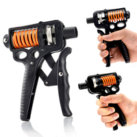 Adjustable Hand Grip Strengthener Trainer Hand Gym Power Exerciser Gripper For Increasing Wrist Forearm Finger Strength