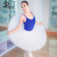 New Adult Professional Ballet Tutu Hard Organdy Platter Skirt Dance Dress 3colors