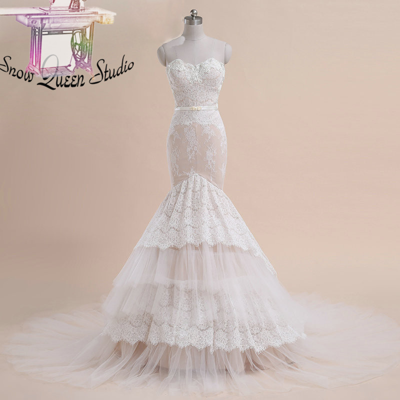 Popular champagne pink wedding dresses buy cheap champagne for Pink champagne wedding dress