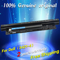 Free shipping XRDW2 YGMTN VR7HM W6XNM X29KD T1G4M V1YJ7 V8VNT MR90Y N121Y PVJ7J G019Y Original laptop Battery For Dell 2521 2421