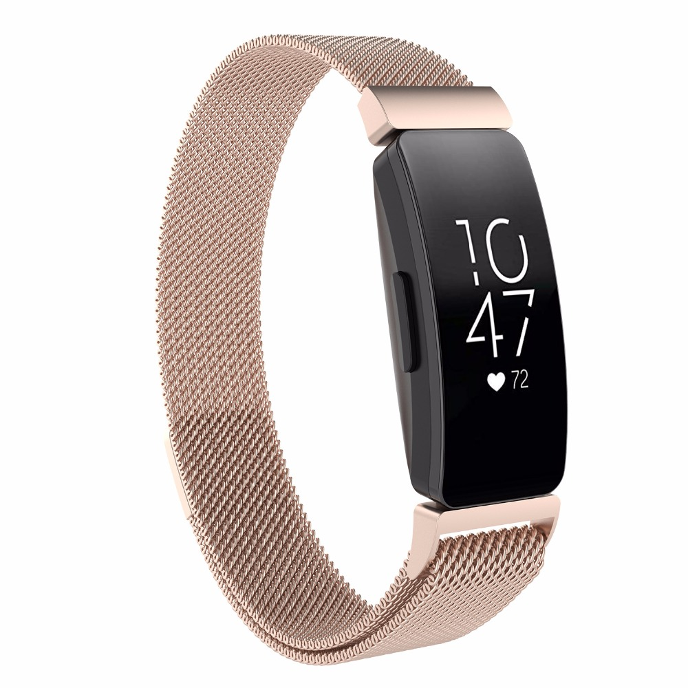 Image 4 - multi color strap for fitbit inspire metal strap inspire HR For fitbit inspire / inspire HR metal wristband  fitbit flex-in Smart Accessories from Consumer Electronics
