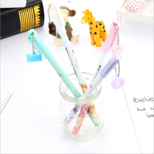 Buy 4pcs/lot  kawaii Marca dragon  Gel Ink Pen canetas material escolar Stationery school office supplies kids gift Free shipping  directly from merchant!
