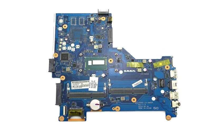 764109-501 ZSO50 LA-A992P UMA Motherboard w/ i3-4010U CPU for HP Pavilion 15-R 15-R015DX 15-R053CL 15-R013TU Laptops764109-501 ZSO50 LA-A992P UMA Motherboard w/ i3-4010U CPU for HP Pavilion 15-R 15-R015DX 15-R053CL 15-R013TU Laptops