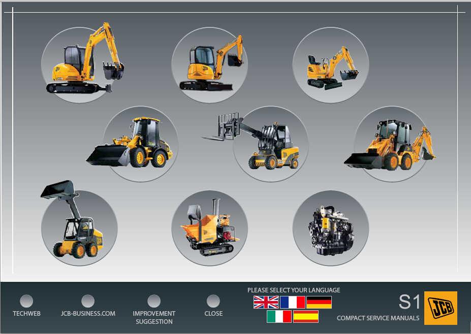 Linde Forklift EPC+Bobcat EPC+JCB spp 1 18+ Manitou +Hyster