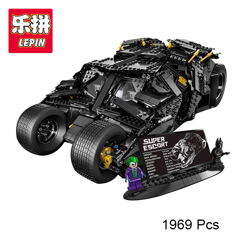 LEPIN 07060 Genuine Super Hero Movie Series Batman Armored Chariot Compatible With lego 76023 Building Block Bricks Boy Toys lepin 07060 super series heroes movie the batman armored chariot set diy model batmobile building blocks bricks children toys