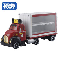 TAKARA TOMY tomica pixar DISNEY MOTORS DREAM carry TRUCk model kit DIECAST miniature CAR toy funny anime figure baby toys