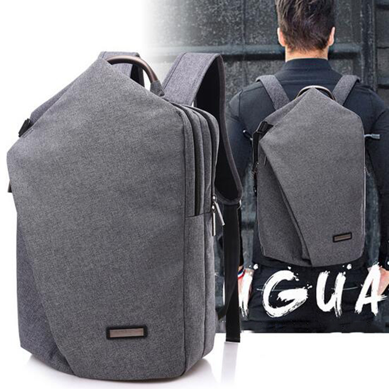 2018 Large Capacity Men Bag Fashion 15.6inch Laptop Backpack Waterproof Oxford College Tide Casual Men's Backpacks School Bag t plants multifunctional men large capacity backpacks oxford laptop bag for 14 inch college backpacks comfort travel backpack