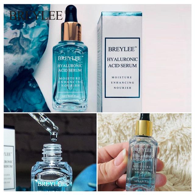 BREYLEE Hyaluronic Acid Serum Facial Moisturizing Essence Face Skin Care Nourishing Repairing Whitening Cream Ageless Beauty