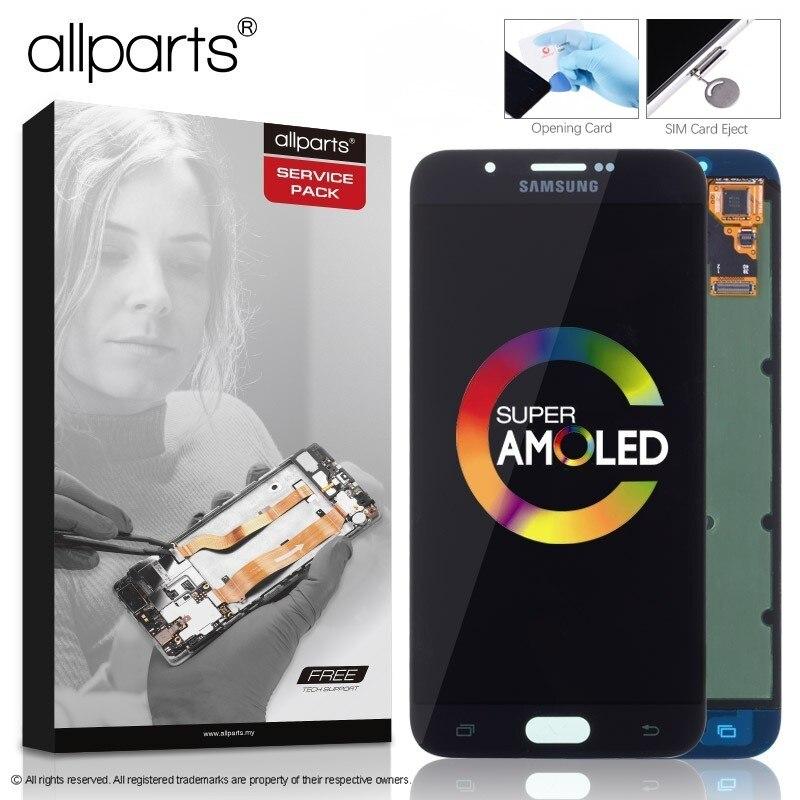 D'ORIGINE 5.7 Super AMOLED Affichage pour SAMSUNG Galaxy A8 LCD Affichage A8000 A800 A800F Écran Tactile Digitizer Pièces De Rechange