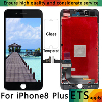 ETS 10PCS YOUDA Grade AAA For IPhone 8 Plus LCD Screen Lcds With Glass LCD Display