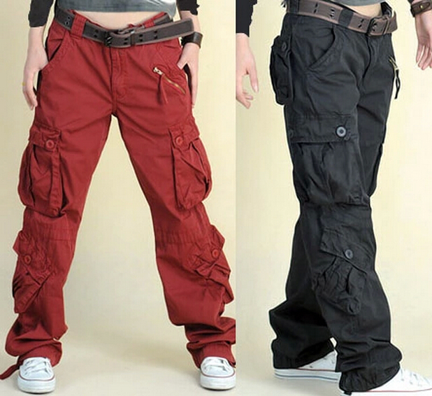 cargo pants with a lot of pockets - Pi Pants