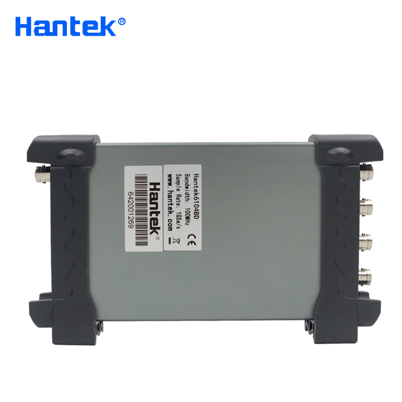 Image 5 - Hantek 6104BD USB Oscilloscopes 4 Channels 100Mhz Osiclloscope Digital PC Based Osciloscopio + 25Mhz Signal Generatorusb oscilloscopeoscilloscope 4 channels4 channels -