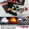Night Lord For Mazda3 Led DRL Turn Light Double Color Led Daytime Running Light Front Turn