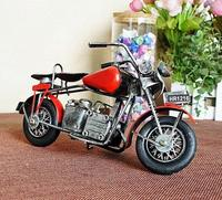 Special home of model iron motorcycle model of manual sheet iron manual