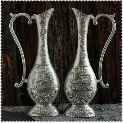alta calidad simples jarrones decoracin florero floreros de metal para la decoracin del hogar regalos y