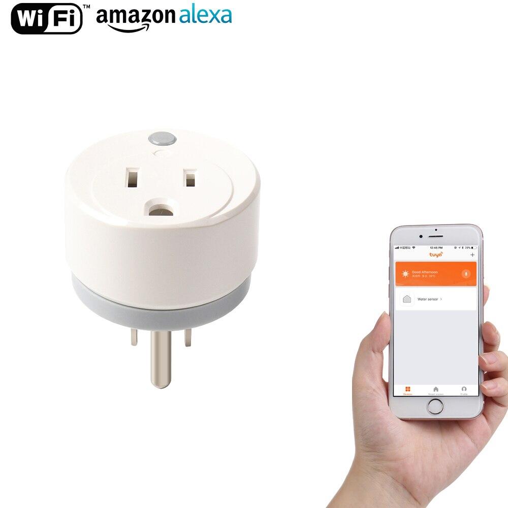 NEO WiFi US Smart Plug Remote control Appliance Power ON/OFF via App Wifi Socket Working with Amazon Alexa and Google IFTTT neo wifi us smart plug remote control appliance power on off via app wifi socket for amazon alexa google ifttt tuya smart