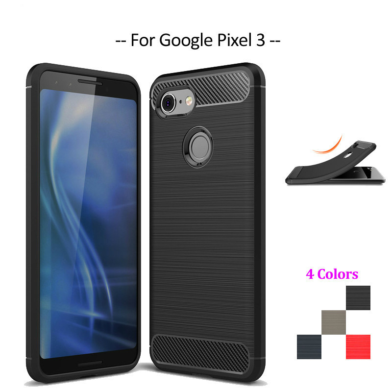 For Cover Google Pixel 3 Case Soft Silicone Celular Bumper Funda Phone Case For Google Pixel 3 Cover Pixel3 Funda 5.4''
