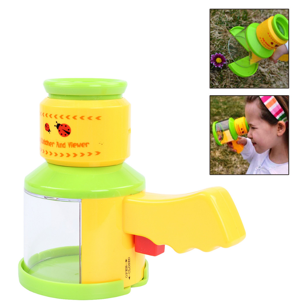 Bug Catcher Insect Viewer Box Acrylic Magnifier Microscope B