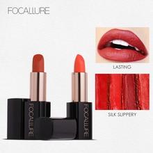 NEW Focallure Lipstick 20 Colors Smooth Cream Lip Stick Moisturizer Long Lasting