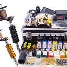 YLT-33 татуировки kit татуировки инструмент оборудования 2 машинки для постоянного макияжа машина