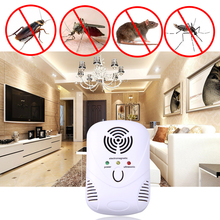 Anti Pest Mosquito Cockroach Mouse Ultrasonic Machine Electronic Animal Repeller Summer Room Repellent Bug Rat Mosquito Killer