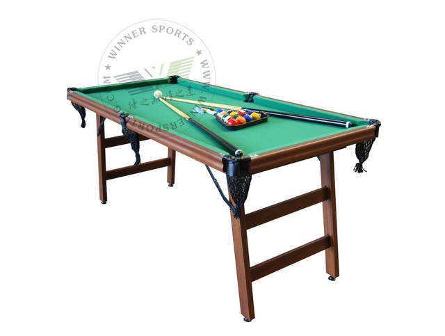 72 Inch Folding American Pool Table Biilard Family Using Billard Small Size Foldable