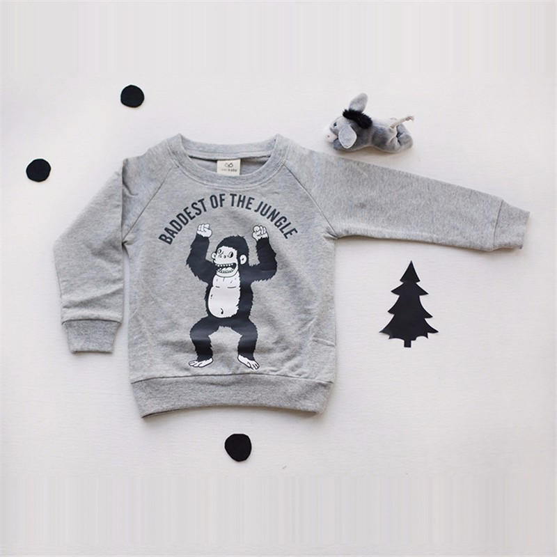 2For Boys Girls Sweater T-Shirts Clothes Autumn Winter New Panda Bear Printing Tops Kids Sweatershirt  Tees Clothing Full Sleeve 1